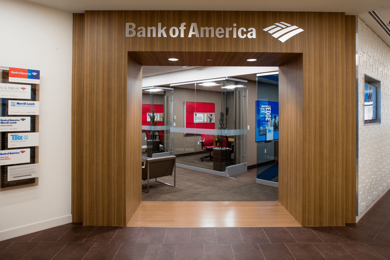Bank Branches on Way Out? Not for Bank of America | NCR