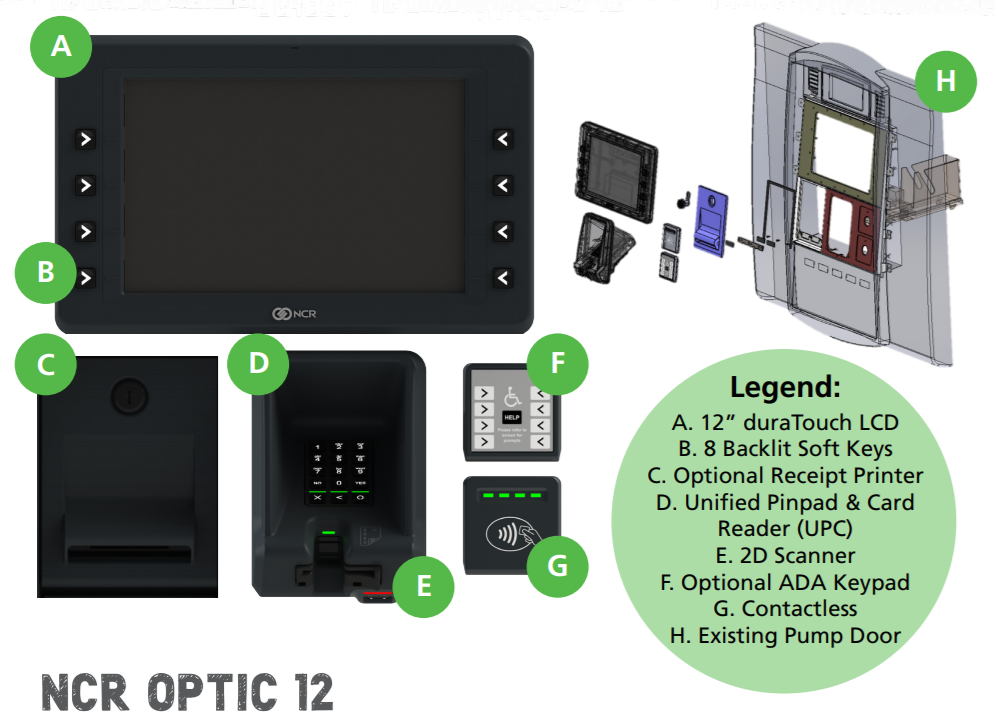 Optic 12 Fuel Retail Pos Secure Payments Advertise