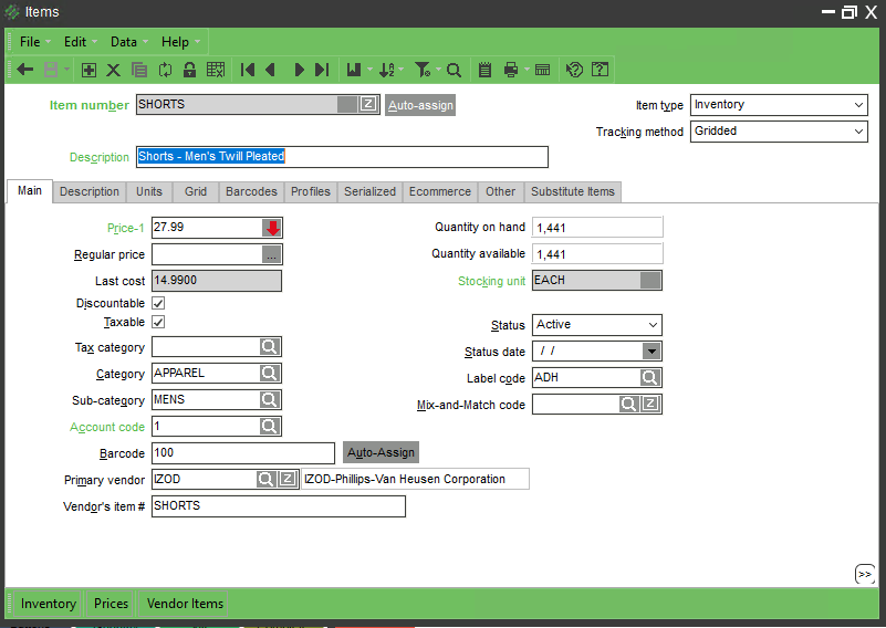 Counterpoint POS - Powerful Inventory Management | NCR