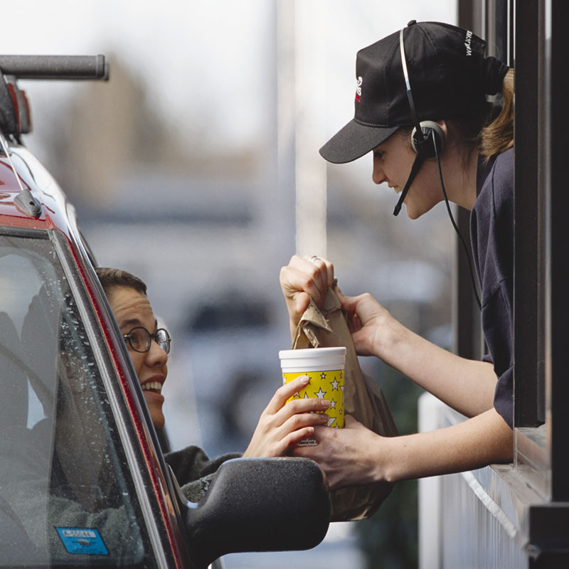Fast Food Drive Thru Ordering System Improve Order