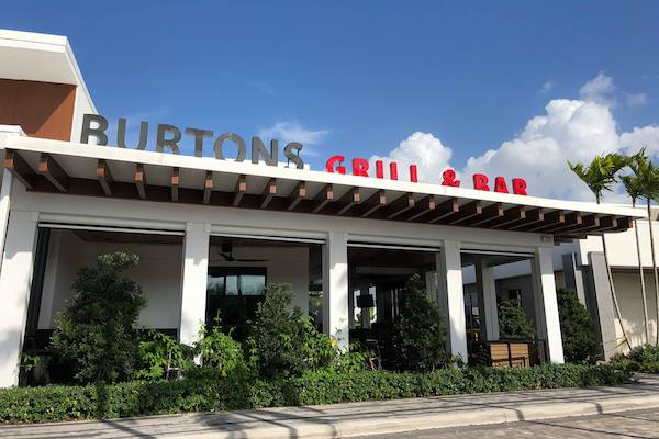 Burton's Bar and Grill Exterior