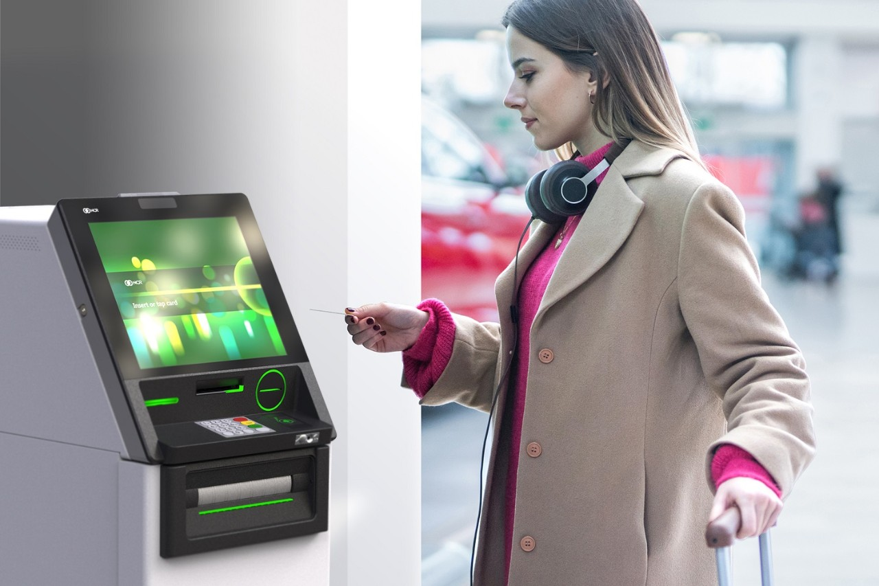 People explore ATM features