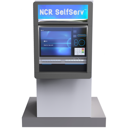 NCR SelfServ 84 - Exterior Through-the-Wall Multi-Function ATM & ITM