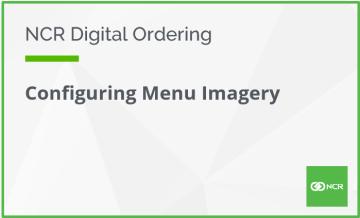 Configuring Menu Imagery